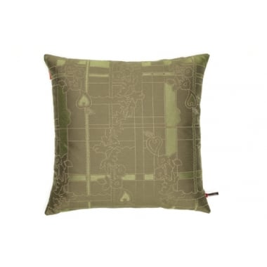 Vitra Park Woven Bamboo/Lichen Cushion Large