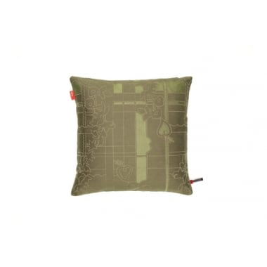Vitra Park Woven Bamboo/LichenCushion Small