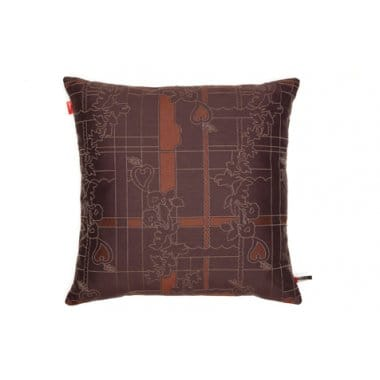 Vitra Park Woven Cayenne / Syrah Cushion Large