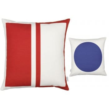Vitra Rectangle / Circle Graphic Print Cushion